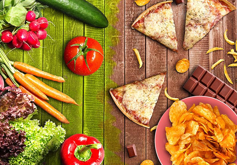 栄養バランスのとれた食事のコツ