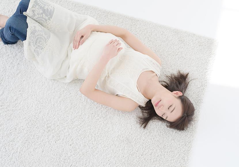 眠りつわりの解消法