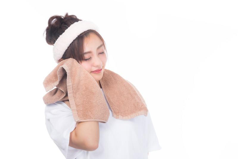 気持ちのいいタオルを使う