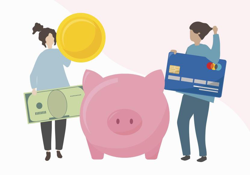 夫婦のお金の管理方法!ネット銀行の共通口座・デビットカードが便利!