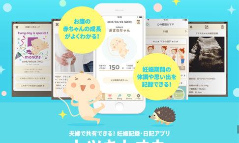【トツキトオカ】赤ちゃんができたら夫婦で使おう!妊娠記録・日記アプリ